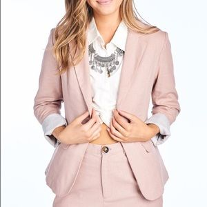 Jackets & Blazers - New Blush Blazer